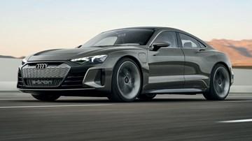 Audi Uncovers e-tron GT Concept, A Four-Door EV Supercar