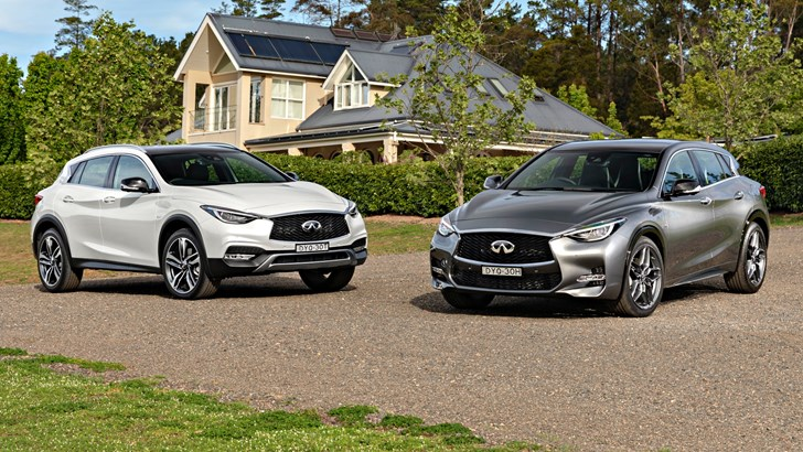 Infiniti Streamlines Q30, QX30 For 2019 – Up To $7k Cheaper