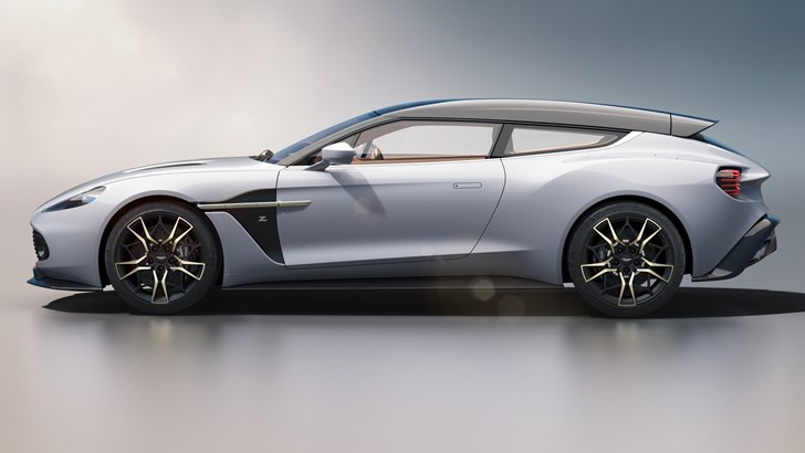Aston Martin Vanquish Zagato Shooting Brake Is A Beautiful Medley