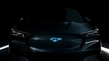 Ford Mustang-Crossover-EV To Be 'Mach-E,' Not 'Mach 1' –Gallery
