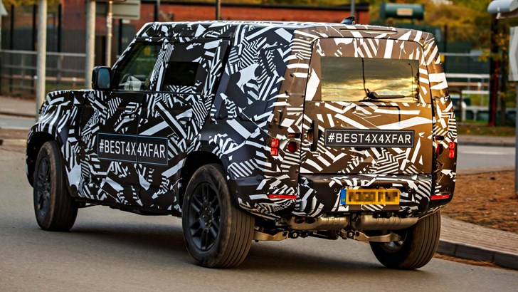 "All-New Land Rover Defender ""Days Away"" – Gallery"