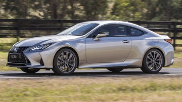 Lexus' 2019 RC Coupe Arrives Down Under