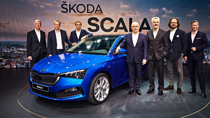 News Skoda Unveils 19 Scala The Bigger Smarter Rapid