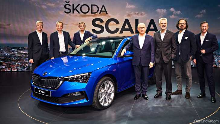 News Skoda Unveils 19 Scala The Bigger Smarter Rapid