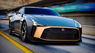 2018 Nissan GT-R50 by Italdesign - Concept