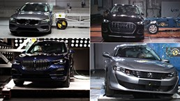 5-Stars For BMW X5, Audi Q3, Volvo S60, Peugeot 508 – Gallery