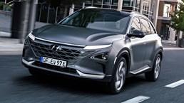 2018 Hyundai Nexo Hydrogen Fuel-Cell EV
