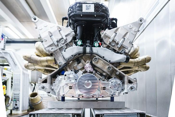 Aston Martin Details Valkyrie's 'Masterpiece' 1,000hp V12