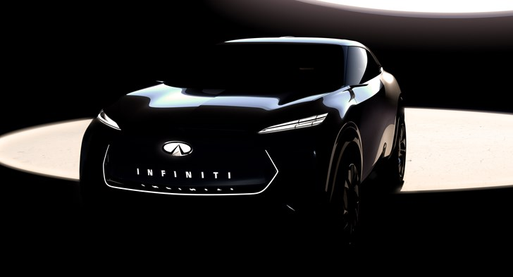 Infiniti Teases  Near-Finished EV Crossover For Detroit Motor Show