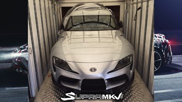 Production-Spec 2020 Toyota Supra Front End Leaked