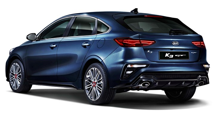 2018 Kia K3 GT 5-Door – South Korea