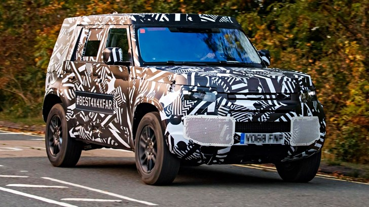 All-New Land Rover Defender Cued For 2019 Launch – Gallery