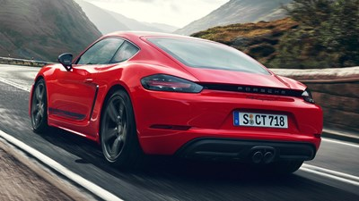 News Porsche S New Boxster T Cayman T No Frills 718 Unveiled