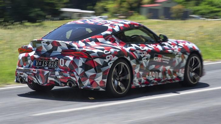Toyota A90 Supra Prototype Given Aussie Shakedown