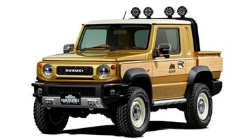 Suzuki Jimny Sierra Pick Up Style's A Concept Only, Sadly
