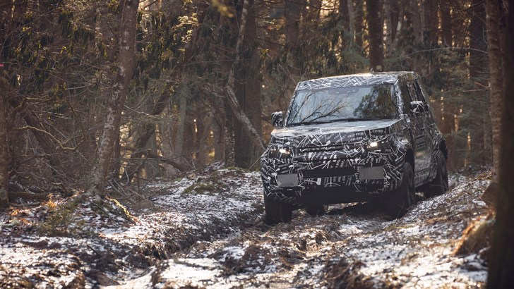 2020 Land Rover Defender – Prototype Off-Roading