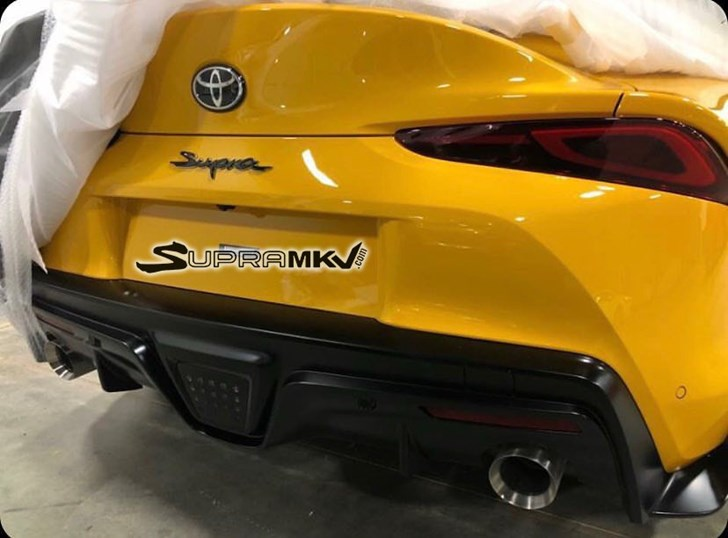 Toyota Supra's Rear Stays True To FT-1 Concept