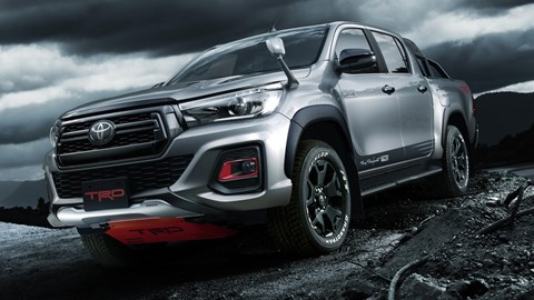 Toyota Hilux Black Rally Looks Amazingly Tasty – Gallery