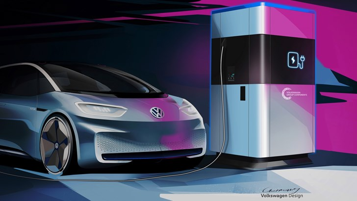 Volkswagen's Mobile Charging Station Is A Powerbank For Cars – Gallery
