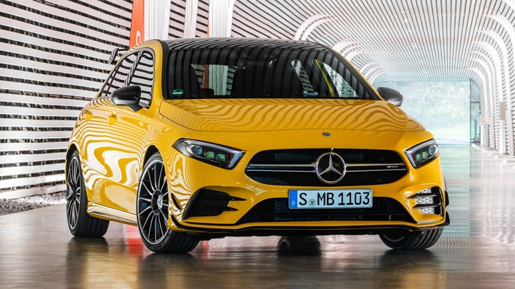 New Mercedes-AMG A 45 4Matic To Sport 309kW Four-Pot