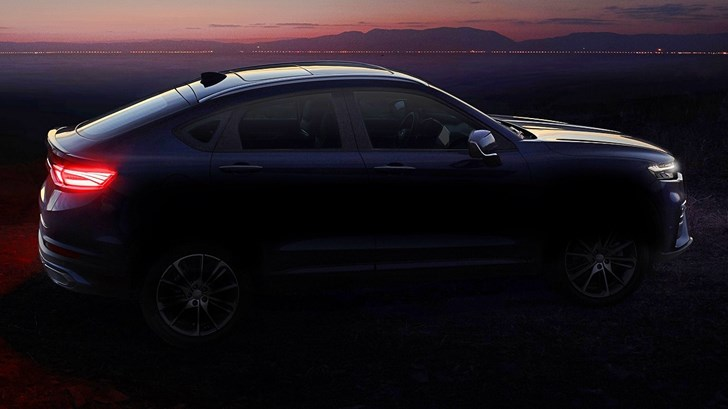 Geely Teases Sporty-ish Coupe SUV Model