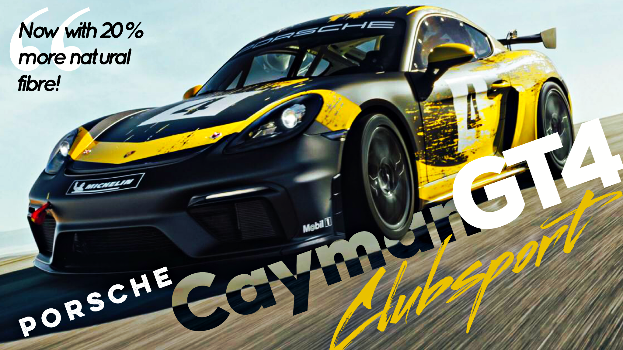 New Cayman GT4 Clubsport Returns Flat-6, Uses Natural-Fibre Panels
