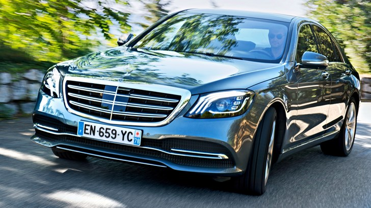 '20 Mercedes S-Class To Be Hybrid, Long-Wheelbase Only – Gallery