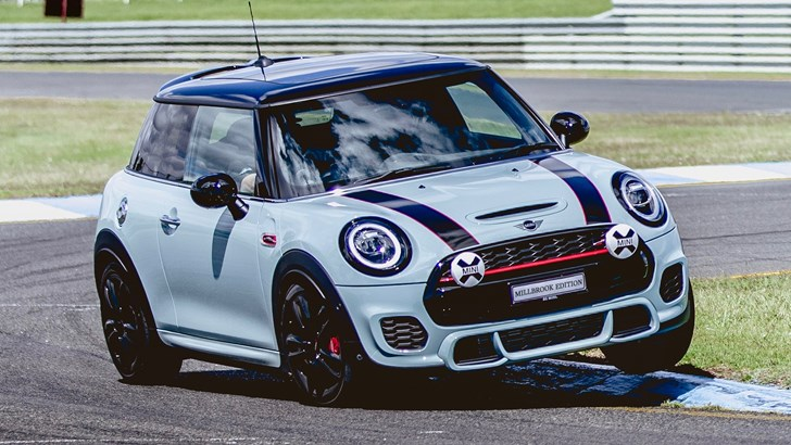 MINI Australia Brings Millbook Edition JCW Hot Hatch