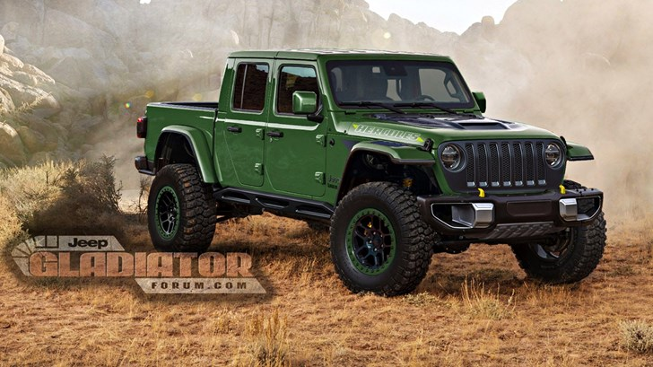 Jeep Gladiator To Take On Raptor With 'Gladiator Hercules' – Gallery
