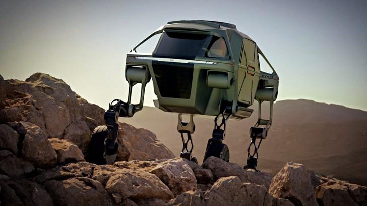 2019 Hyundai Elevate Concept – 2019 CES