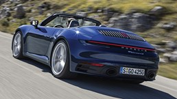 Porsche 911 Cabriolet - 992 - Carrera 4S