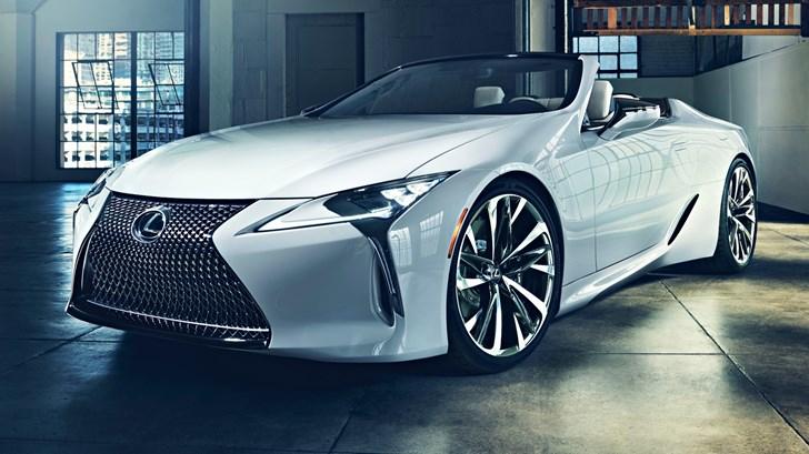 2019 Lexus LC Convertible Concept – 2019 NAIAS