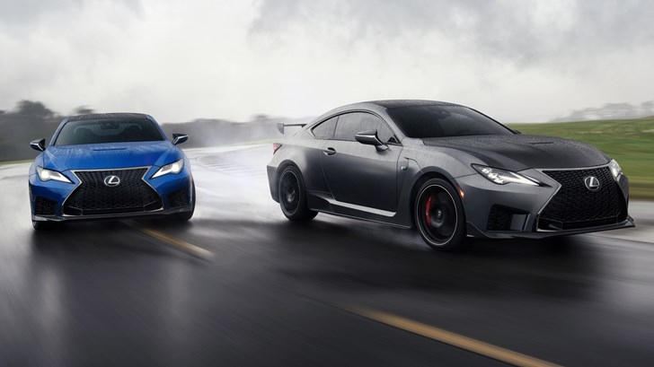 Lexus Rolls Out Hardcore RC F Track Edition, 2019 RC F Update