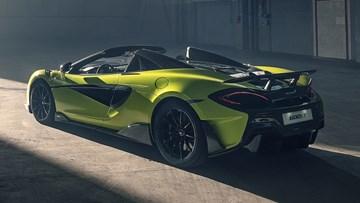 McLaren Unveils The Drop Top 600LT Spider