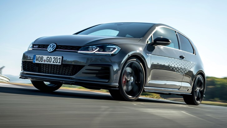 Volkswagen's GTI TCR Is A Front-Drive, 3-Door Golf R