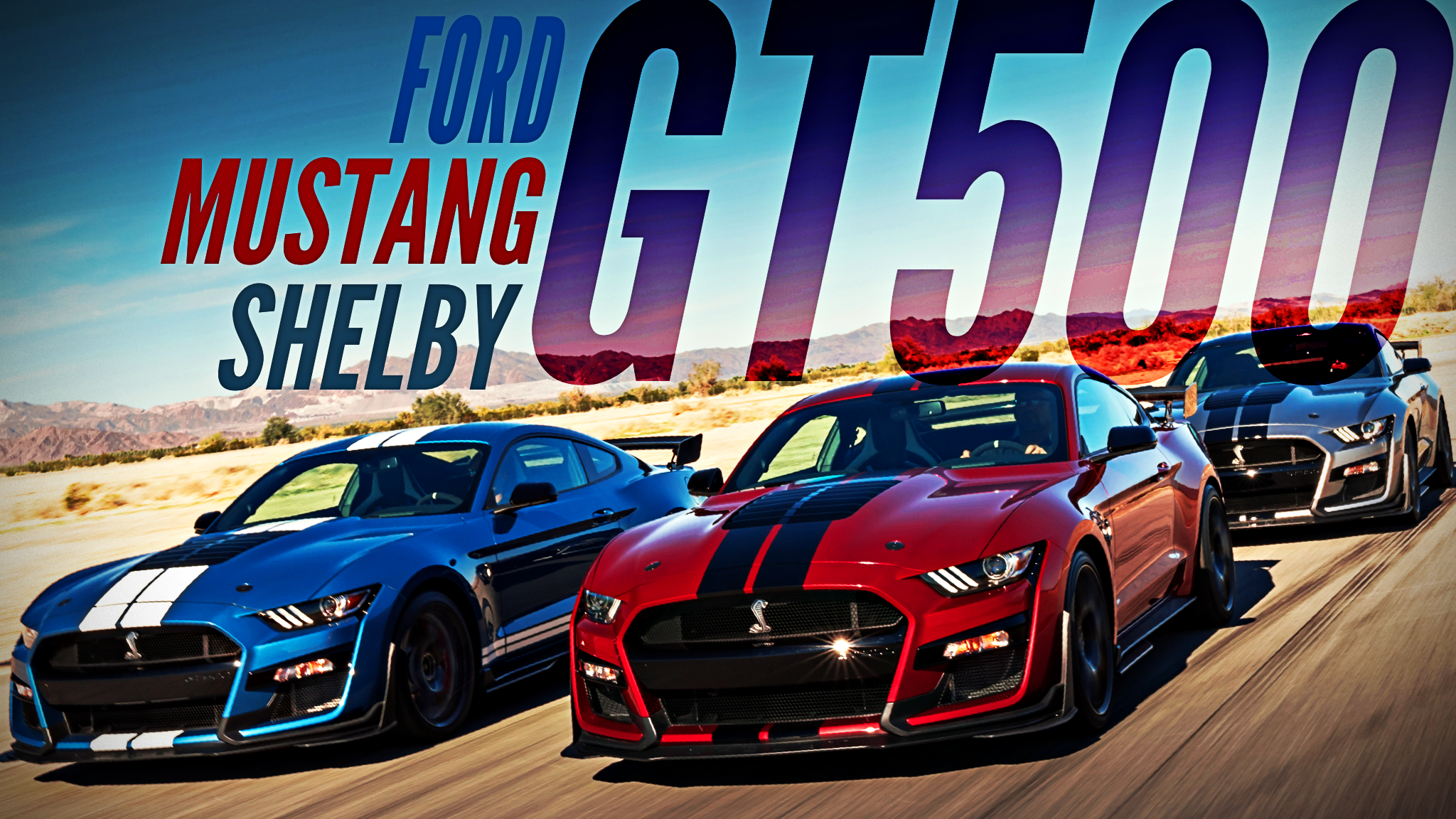 Ford Unveils Shelby Mustang GT500, The Ultimate Pony