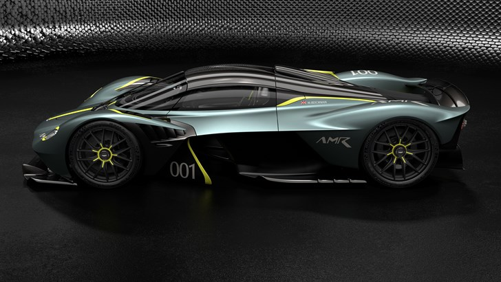 Aston Martin Outs Valkyrie's AMR Track Pack, Endless Customisation