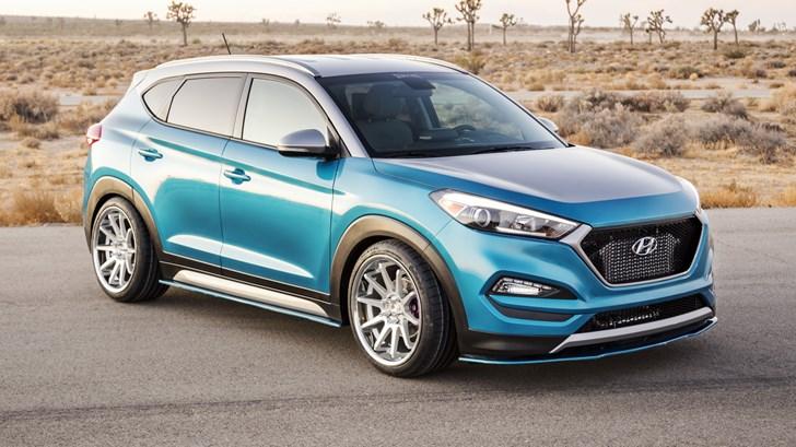 Hyundai Contemplates Hot Crossover, 250kW Tucson N