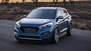 Hyundai Contemplates Hot Crossover, 250kW Tucson N