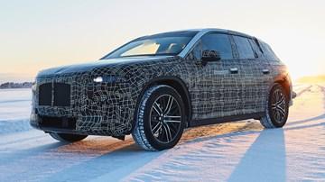 BMW Tests iNext EV SUV In Arjeplog, Sweden –Gallery