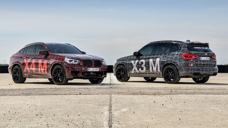 BMW Teases X3M, X4M Ahead Of Geneva –Gallery