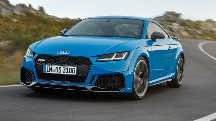 Audi Reveals Updated TT RS Coupe & Roadster