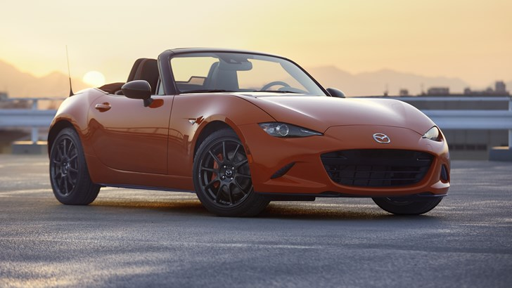 Mazda Celebrates 30 Years Of The MX-5 With Anniversary Edition