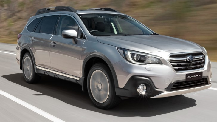 Subaru Confirms All-New Outback – Gallery