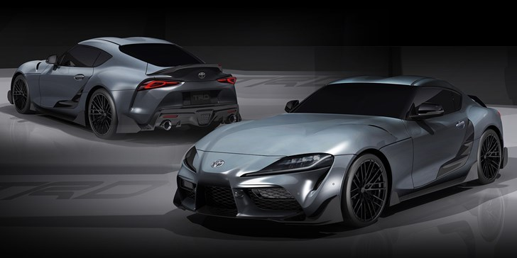 Toyota Outs Angrier TRD Modified Supra Ahead Of Geneva