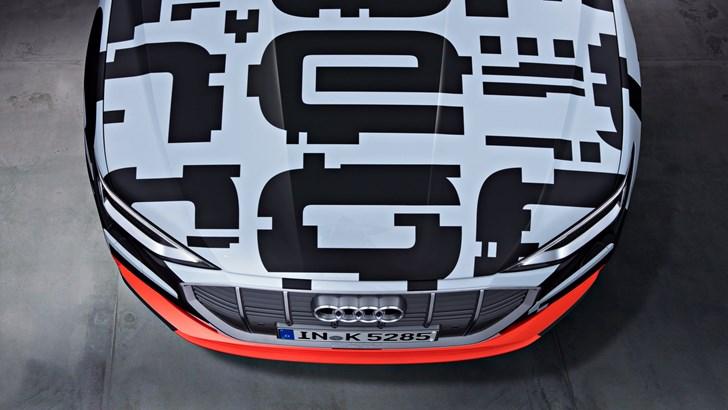 Audi Bringing Entry-Level e-tron SUV To Geneva –Gallery