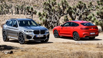 2019 BMW X3M, X4M Revealed – Gallery