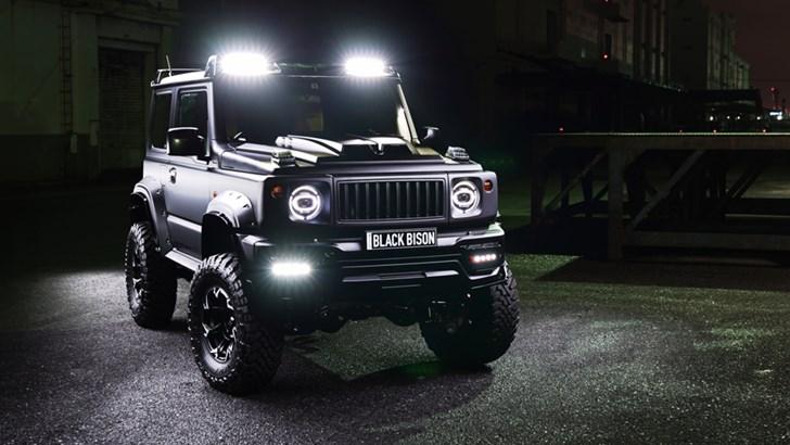2019 WALD Suzuki Jimny Black Bison Edition