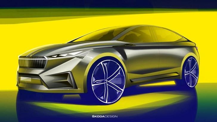 2019 Skoda Vision iV – Geneva Motor Show