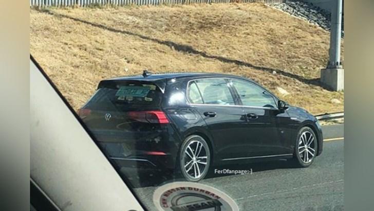Volkswagen Still Careless With Mk8 Golf –Gallery